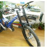 BICICLETA GIANT GLORY DH - Mountain Bike Giant, MTB Full Suspension, Discuri, Cu amortizor, Arc/ulei, Aliaje de aluminiu
