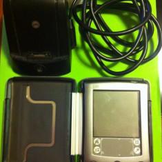 Palm M515 + Carcasa + Dock conexiune PC USB - PDA Palm