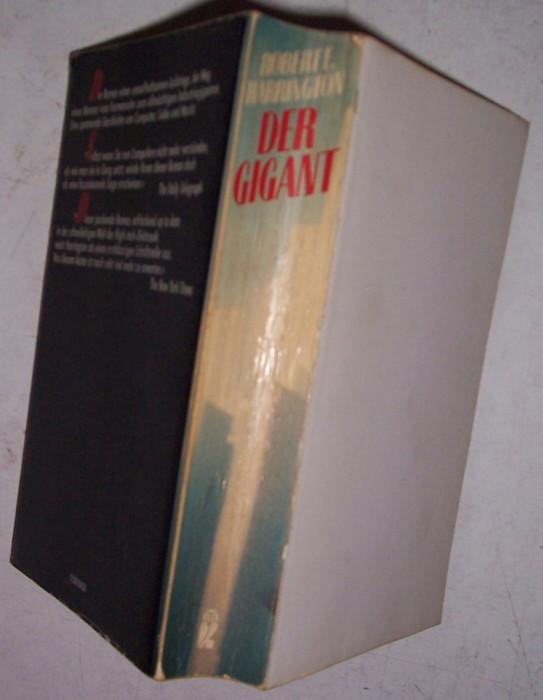 DER GIGANT de Robert I. Harrington, roman, in germana