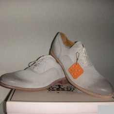 Pantofi TIMBERLAND Earth Keepers originali noi piele integral 44.5/45.5 - Pantofi barbat Timberland, Culoare: Alb, Piele intoarsa, Casual