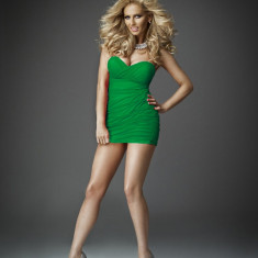 Rochita mexton foarte frumoasa si sexy - Rochie de club, Culoare: Verde, Marime: 36