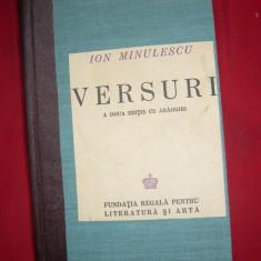 Ion Minulescu - Versuri -Ed.IIa 1943