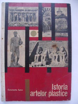 Constantin Suter - Istoria artelor plastice (1967) foto
