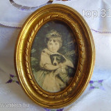 TABLOU MATASE 1 - Pictor roman, Portrete, Miniatural