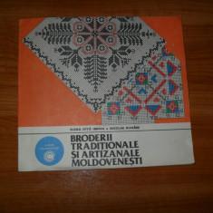 Nicolae Dunare -Broderii traditionale si artizanale moldovenesti