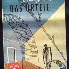 DAS URTEIL de Franz KAFKA, roman in limba germana - Carte in germana
