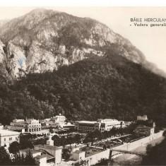 CPI (B891) BAILE HERCULANE - VEDERE GENERALA, CPCS, ILUSTRATA CIRCULATA, 1960, STAMPILE, TIMBRU - Carte Postala Banat dupa 1918, Fotografie