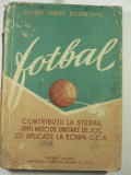 C.C.A. CAMPIOANA REPUBLICANA PE 1956-57- DR ING VIRGIL ECONOMU - STUDIU DE JOC