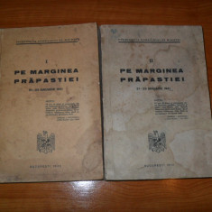 Presedintia Consiliului de Ministri- Pe marginea prapastiei 1942 - 2 volume {legionari}
