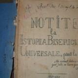 Notite la Istoria Bisericii Universale, pana la 1054- {1929} - Carti Istoria bisericii