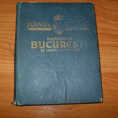 PLANUL UNIREA - Municipiul Bucuresti si Imprejurimile{fara harti}