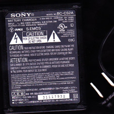Incarcator Sony original, pentru baterii AA si AAA, priza tip SUA - Incarcator Aparat Foto