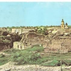 CPI (B858) SUCEAVA - VEDERE DE LA CETATE, EDITURA MERIDIANE, ILUSTRATA CIRCULATA, 1965, STAMPILE, TIMBRU FILATELIC - Carte Postala Moldova dupa 1918, Fotografie
