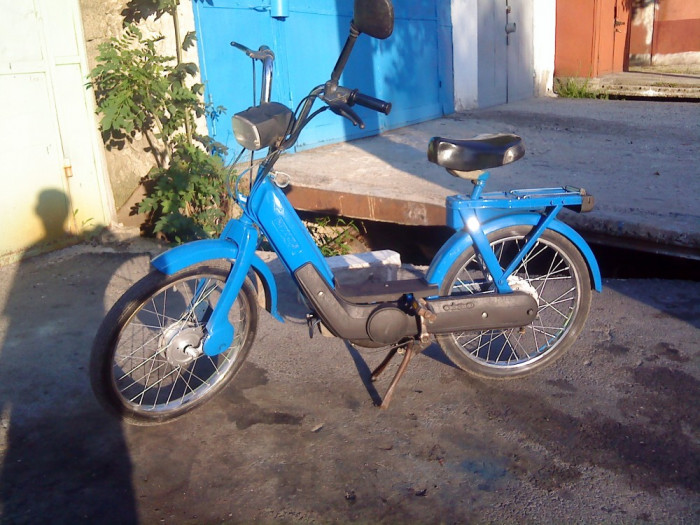 moped Piaggio Ciao foto mare
