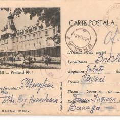 CPI (B849) CALIMANESTI - PAVILIONUL NR. 1, IBS, CIRCULATA, 1964, STAMPILE, TIMBRU IMPRIMAT - Carte Postala Oltenia dupa 1918, Printata
