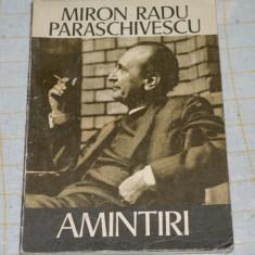 Miron Radu Paraschivescu - Amintiri - Editura Ion Creanga - 1975
