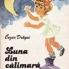LUNA DIN CALIMARA de CEZAR DRAGOI - Carte poezie copii