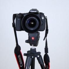 APARAT FOTO CANON EOS D60 18.0-Megapixel DSLR Camera with 18-135mm Lens - BlacK - DSLR Canon, Kit (cu obiectiv), Peste 16 Mpx