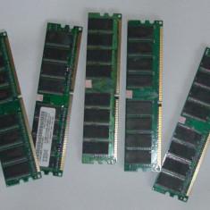 Memorii DDRAM 1GB testate si 100% functionale - Memorie RAM