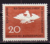 GERMANIA G452 250 ani curte de conturi germana  1964