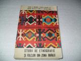 Studii de etnografie si folclor din zona Braila