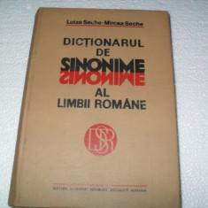 Dictionarul de sinonime al limbii romane -Luiza Seche{dictionar mare} - Dictionar sinonime