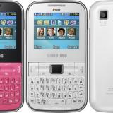 Telefoane Samsung Duos in stare foarte buna de vinzare - Telefon Samsung, Roz, Neblocat, Dual SIM, Fara procesor, 2.2''