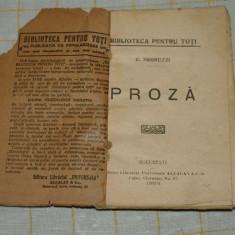 C. Negruzzi - Proza - Editura Librariei Universala Alcalay & Co - 1924 - Carte veche
