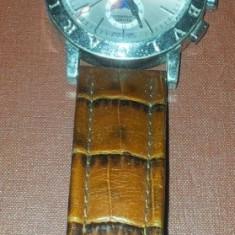 Ceas Bvlgari Automatic, curea piele, folosit - Ceas barbatesc Bvlgari, Mecanic-Automatic, 2000 - prezent