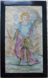 Sf. Arhanghel Mihail - semnat cu caractere chirilice Saveta Nedici 1909