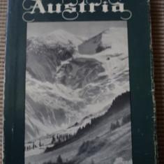 Austria Camil Baltazar carte harta hobby geografie ilustrata foto - Carte Geografie