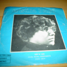 Cristina benyo single folk vinyl - Muzica Folk electrecord, VINIL