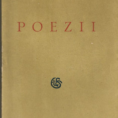 Elena Farago - Poezii - 1928 - Carte Editie princeps