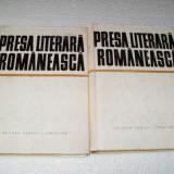 I.HANGIU-PRESA LITERARA ROMANEASCA-2 VOLUME - Carte de aventura