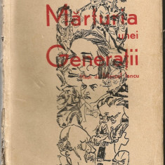 F. Aderca - Marturia unei generatii - 1929 - Carte veche