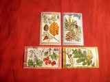 Serie- FLORA -1979  RFG 4 val.stamp.
