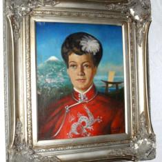 tablou superb portret...PAROBEK AL reducere