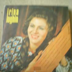IRINA LOGHIN MUZICA POPULARA folclor album disc vinyl lp electrecord, VINIL