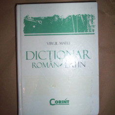 Dictionar roman-latin-Virgil Matei