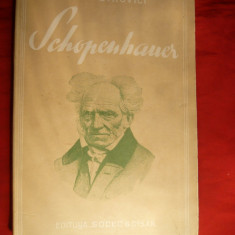 Ion Petrovici - Schopenhauer - Prima Ed. 1937