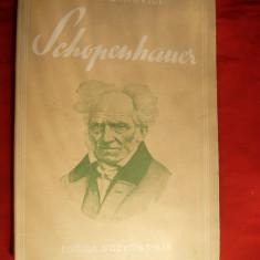 Ion Petrovici - Schopenhauer - Prima Ed. 1937 - Filosofie