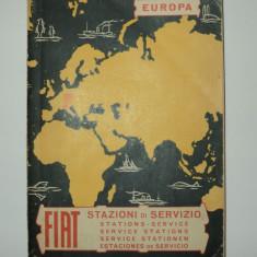 FIAT statii de service 1966 ,  FIAT,  editata de Directia Asistenta Tehnica FIAT