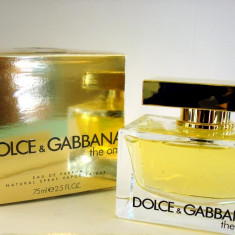 Dolce Gabbana The One MADE IN FRANCE - Parfum femeie Dolce & Gabbana, Apa de parfum, 75 ml