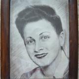Portret de femeie (Vintage) - nesemnat - Tablou autor neidentificat