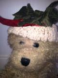 Cumpara ieftin Unicat! Ursulet plus tip Beanie, cu palariuta crosetat manual, Australia