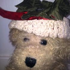 Unicat! Ursulet plus tip Beanie, cu palariuta crosetat manual, Australia - Jucarii plus