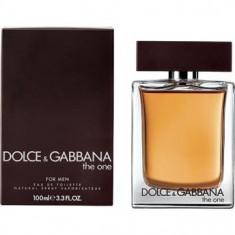 Dolce Gabbana The One for men EDT Made in UK - Parfum barbati Dolce & Gabbana, Apa de toaleta, 100 ml