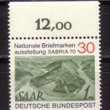 GERMANIA G619 Expoz.Filat SABRIA-70 - Timbre straine