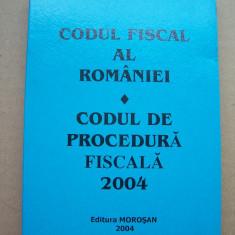 CODUL FISCAL AL ROMANIEI - CODUL DE PROCEDURA FISCALA 2004 , ESTE APROAPE NOUA !