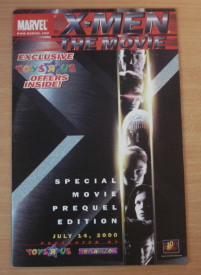 X-Men The Movie Marvel Comics foto